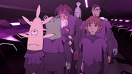14. Matt Shiro and other aliens face the arena