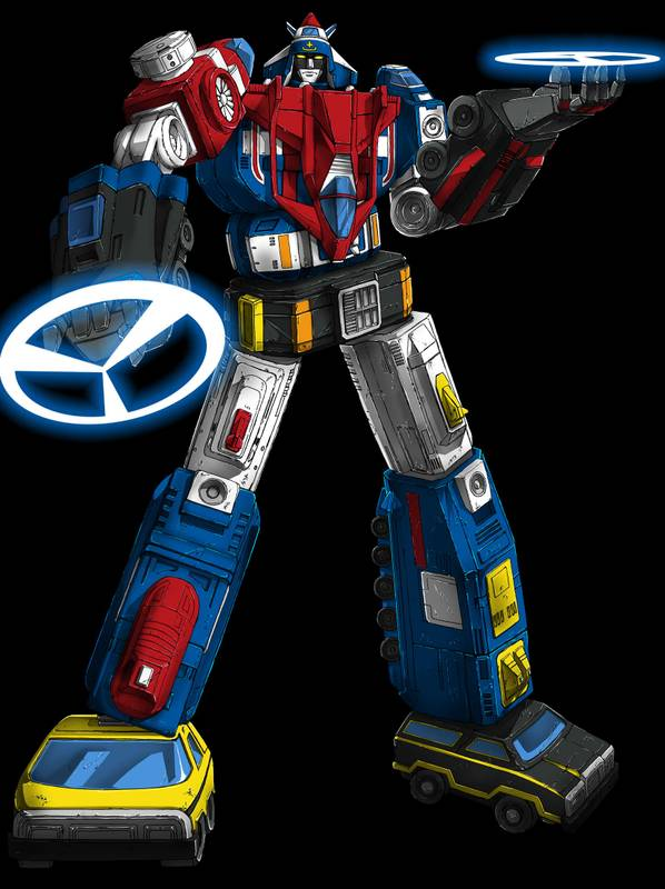Voltron Vehicle Force