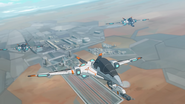 S7E07.179. First flight of the MFE's