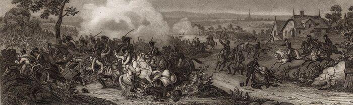 Combat de Landsberg 11 Oct. 1805.