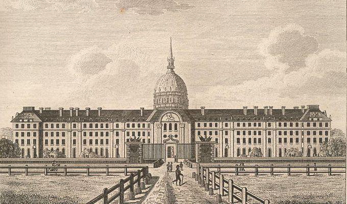 Hôtel des Invalides, du côté de la Riviere.