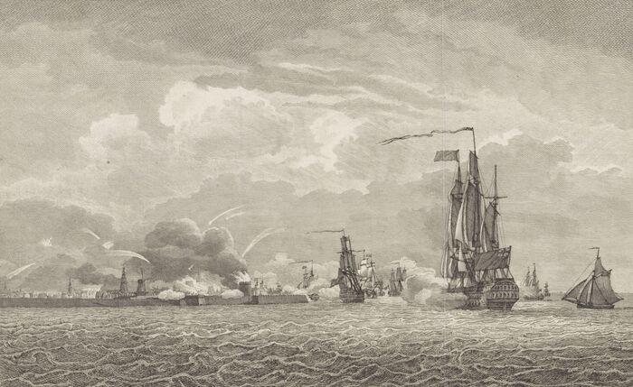 Het Bombardement van Vlissingen 1809.