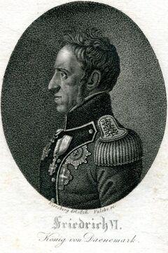 Friedrich VI. König von Daenemark.