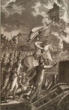 Denkwürdige Schlacht bey Aspern.