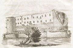 Die Moritzburg.