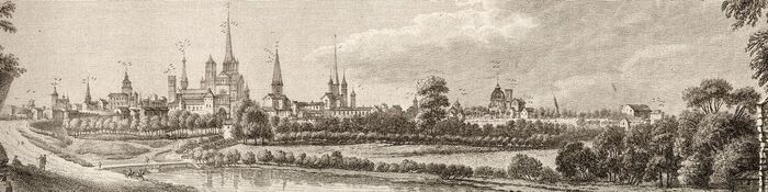 Vue de Dijon.