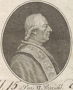 Pius VI. Braschi.