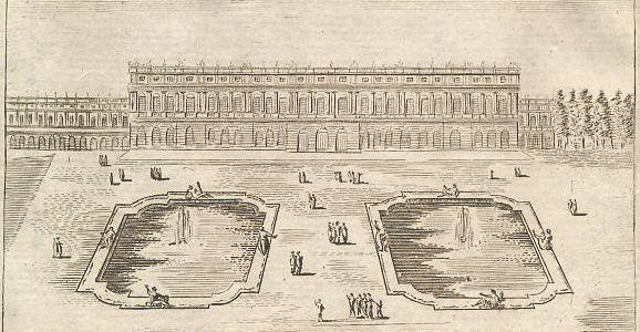 Château de Versailles côté du Parc.