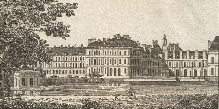 Chateau de Fontainebleau.