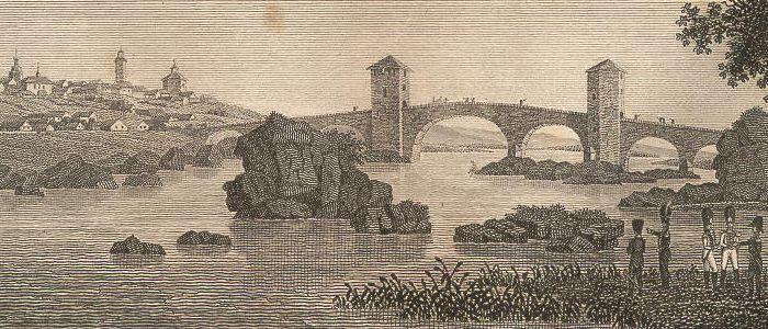 Brücke über den Tajo bey Arzobispo.