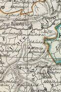 Karte von der Österreichische Reichskreis