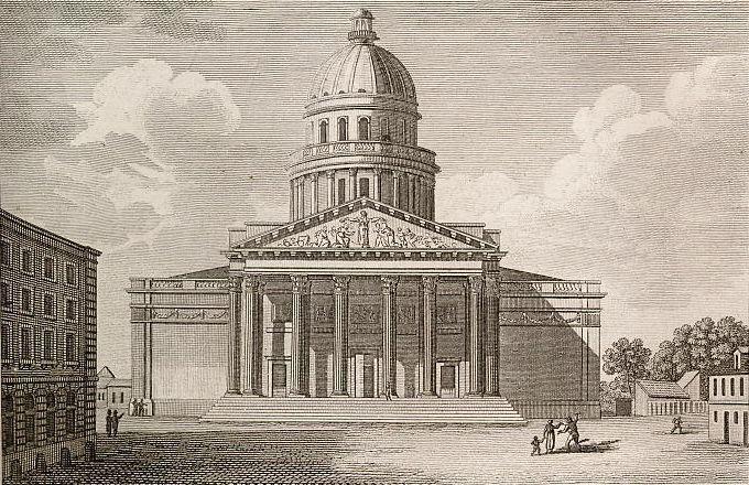 Panthéon ou Nouvelle église de Ste. Génevieve.