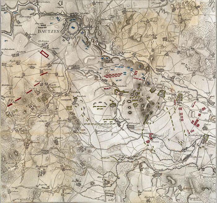 Schlacht bei Bautzen.