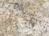 Plan von der Schlacht von Bautzen