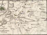 Plan von der Schlacht von Marengo