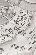 Plan von der Schlacht von Smolensk B