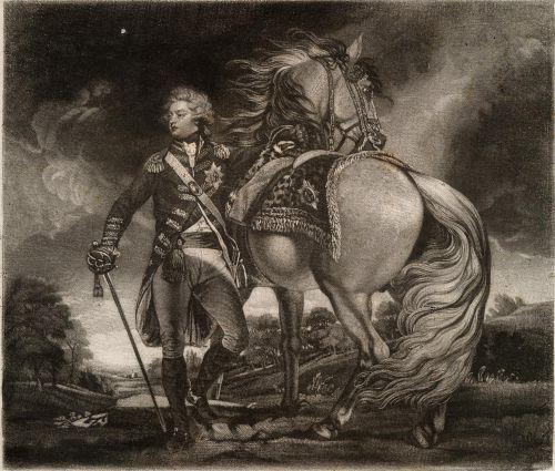 George, Prince of Wales.