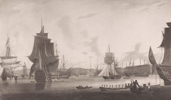 The Royal Dockyard at Portsmouth
