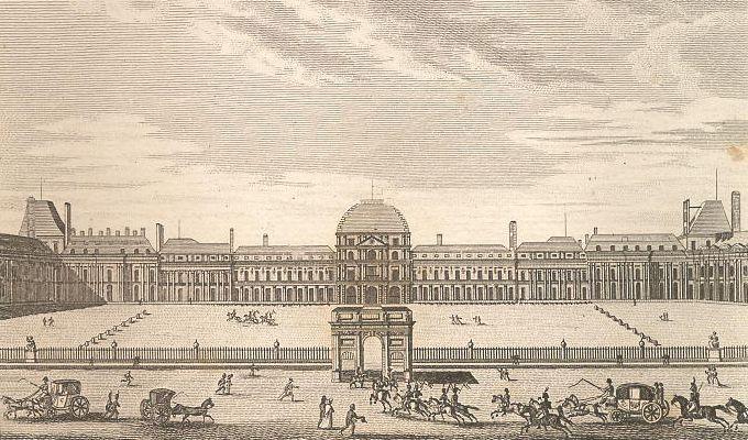 Palais des Tuileries.