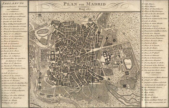 Plan von Madrid.