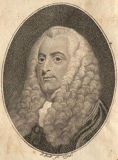 Lord Loughborough Gross Cantzler von England. 1796.