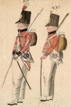Emglische Soldaten.