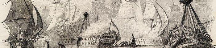 Bataile du 11 8bre 1797 entré la Flotte Batave et l'Armee Anglaise.