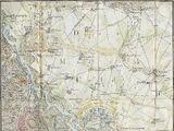 Plan von der Schlacht von Aspern und Eßling