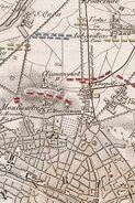 Plan der Schlacht bei Paris