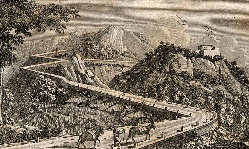 Weg über den Col de Balaguer in Catalonien.