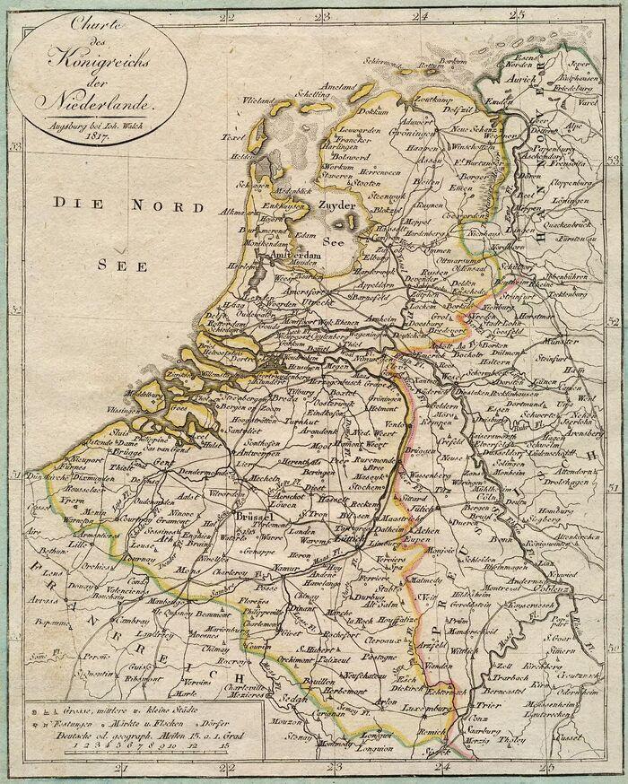 Charte des Königreichs der Niederlande.
