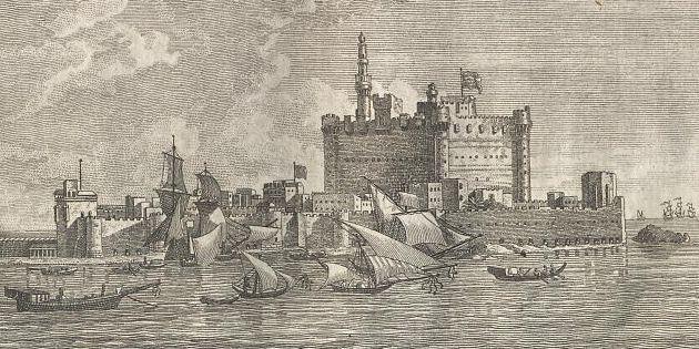 Ufer von Alexandrien.
