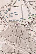 Plan de L'Attaque de Paris le 30 Mars 1814