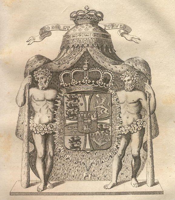 Wappen des Königreichs Dänemark.