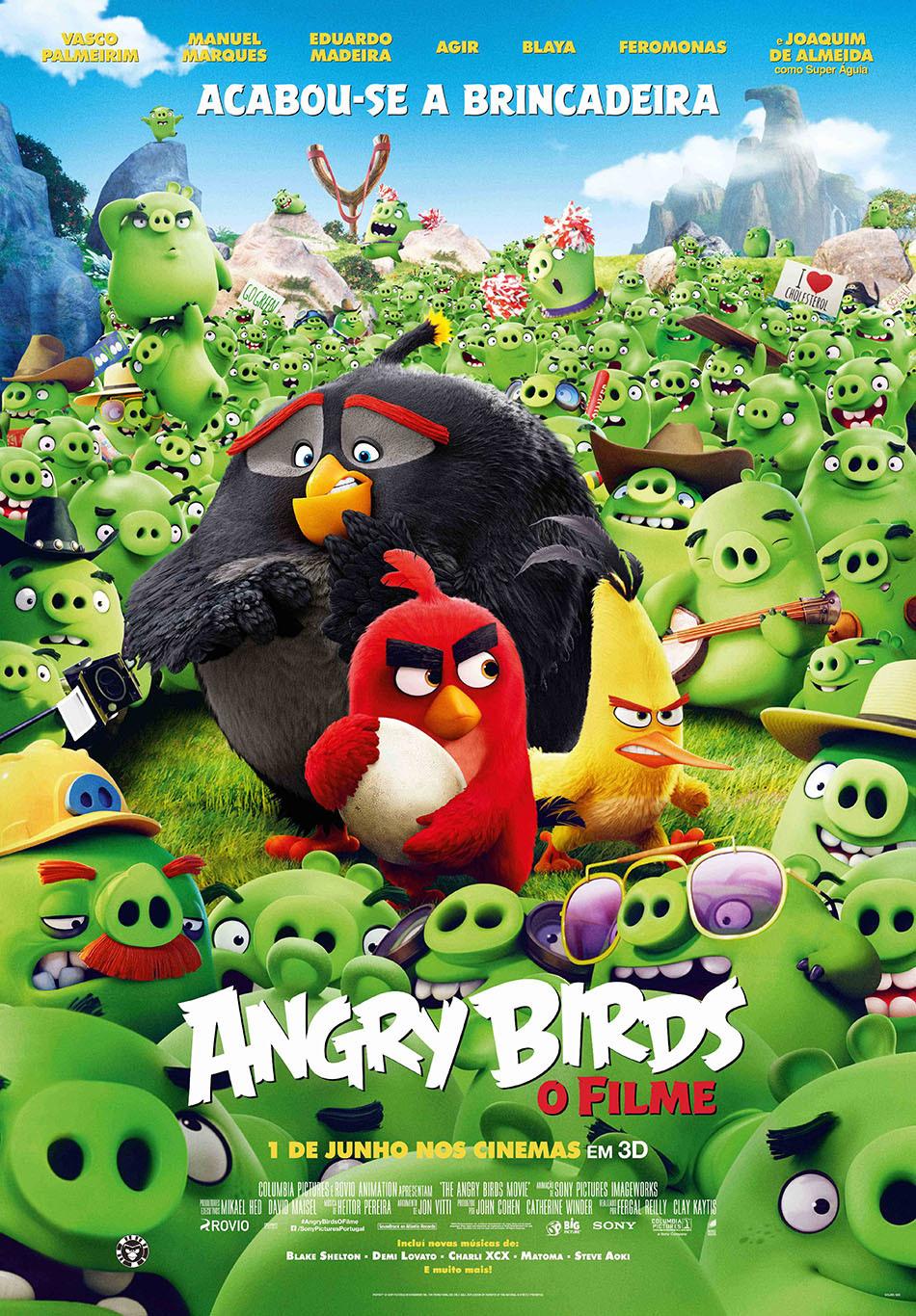 Angry Birds O Filme Wiki Dobragens Portuguesas Fandom