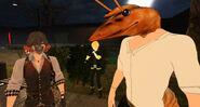 Rofl Mar 13th 2020 30 Floyd Dreamer (Meech) and El camaron (Shrimp)