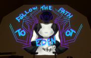Callous Row Grafitti Follow the path to Eden - Screenshot 1