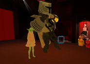 Rofl Oct 31st 2020 13 Jor and Peppymint as Bucket Mandalorian and Baby Yoda