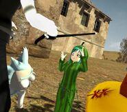 Soras adventures Water melone guy 2
