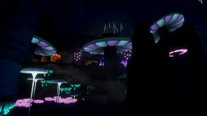Undercity Mushroom Cave VRChat 1920x1080 2020-11-24 03-01-03.942