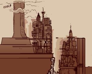 Callous Row Savior City Concept Art by Sketchu2