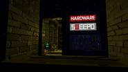Callous Row Oct 2019 18 Hardware store Sweepo