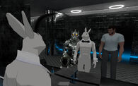 Rofl Mar 3rd 2020 12 Vincent being guided by Klaatu1 and Roflgator