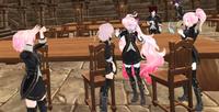 Pink Squad Arbor Cari Vevina Esmae