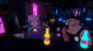 Arcad Callous Jan 11th 2020 49 Nia orders a non-alcohoic drink for Duncyn, Eros