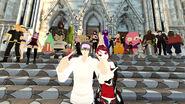 Meech and Crumpet wedding by Spazkoga 31 Gator Crew Group photo