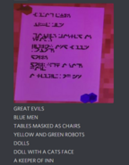 Rofl Sept 30th 2020 49 Ambers coded messages translated by Peppymint