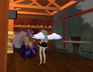 StealthRG July 31st 28 Comfy Cafe Tess faces The Monster