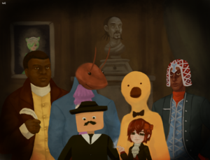 La Cracka Casa family portrait by SeductiveBanana