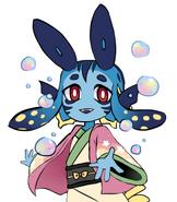 Glitchpoxy's character Niko